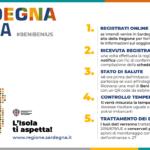 Sardegna, compila il modulo di autocertificazione per gli arrivi dei turisti