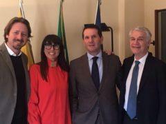 Manlio Messina, Barbara Mirabella, Assessore Sandro Pappalardo, Vincenzo Tumminello