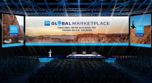 Il Main Stage del Brand USA Global Marketplace