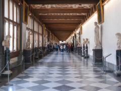 Gallleria Uffizi, foto di Luca Aless su wikipedia.org