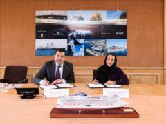 GENEVA, SWITZERLAND - JANUARY 30: MSC Abu Dhabi Signing on January 30, 2020 in Geneva, Switzerland. (Photo by Harold Cunningham for MSC)