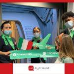 Inaugurata la nuova rotta di Transavia tra Roma e Parigi-Orly
