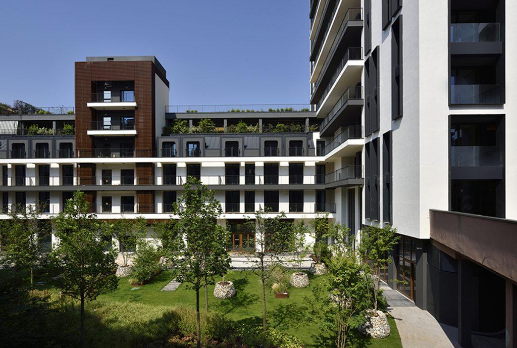 Milano Vertivale | UNA Esperienze - il giardino