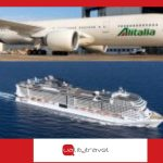 Accordo Alitalia e MSC sui pacchetti volo + crociera