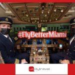 Emirates vola per la prima volta verso Miami