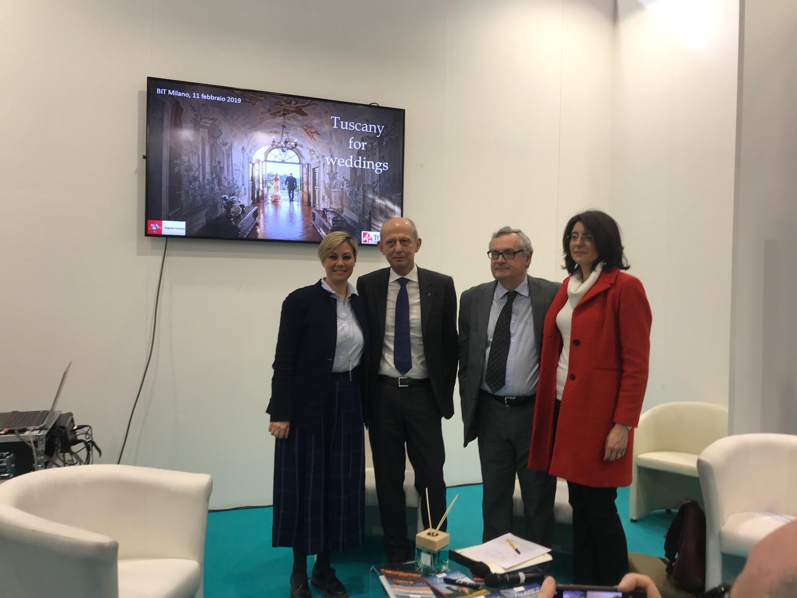 Matrimoni Vip Toscana : Turismo wedding la toscana presenta i risultati alla bit